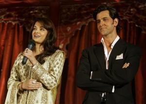 Aishwarya Rai Bachchan and Hrithik Roshan