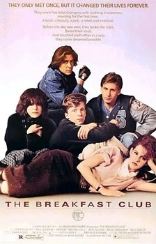 The Breakfast Club Theatrical Poster