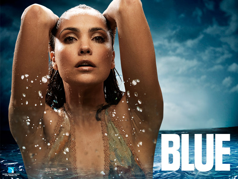 Exclusive First Look – Blue blue-lara-dutta – Film Review