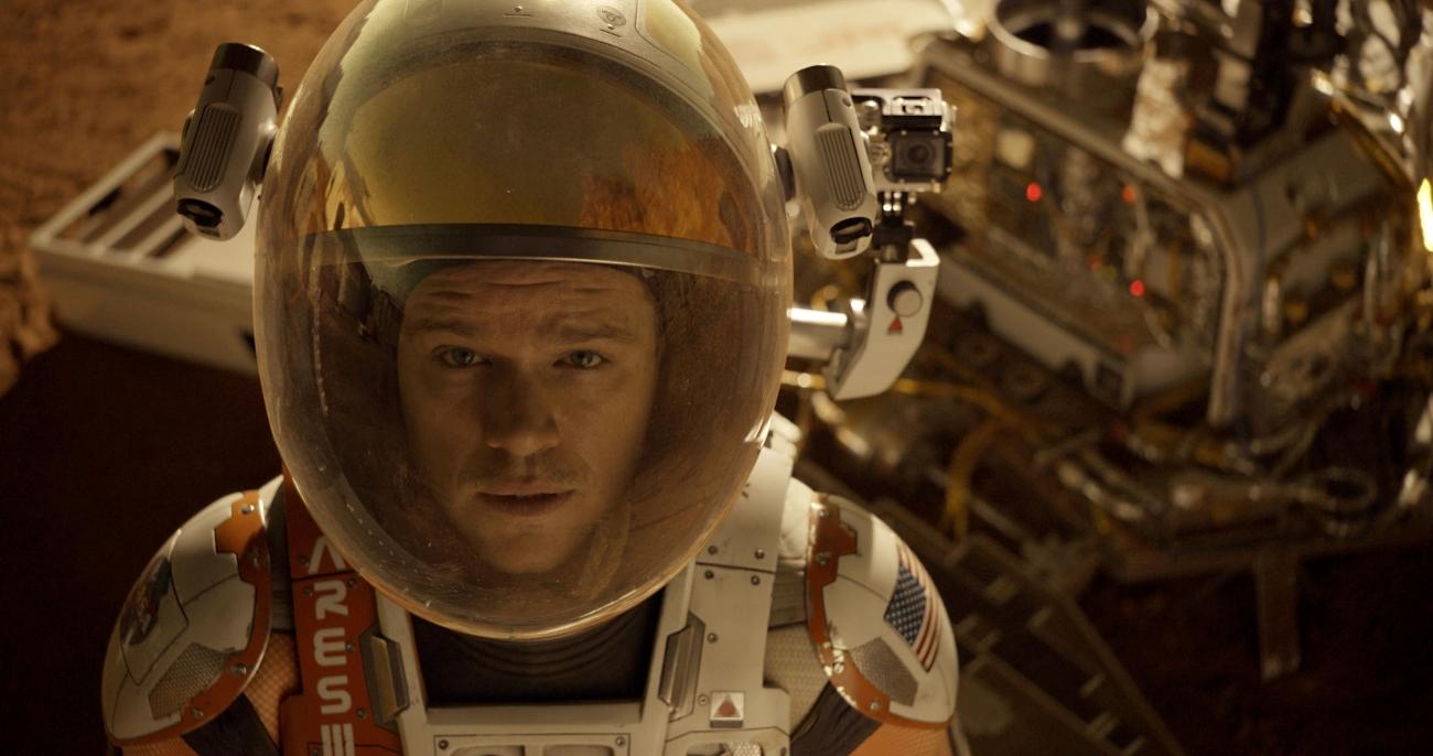 The Martian Movie Matt Damon
