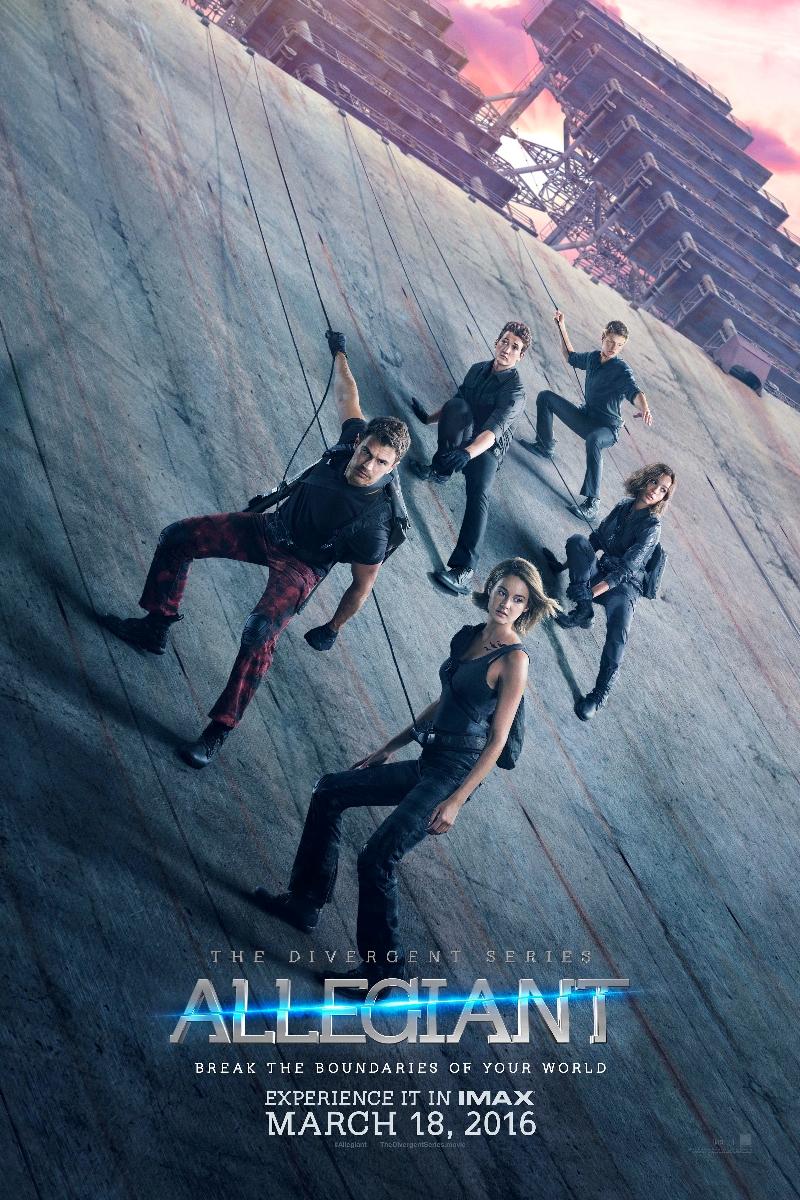 The Divergent Series Allegiant Poster